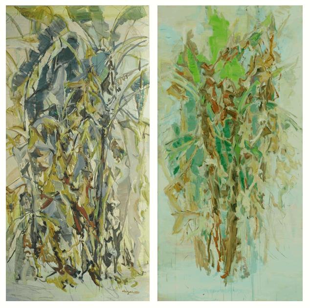 Chen Yan homeland painting
