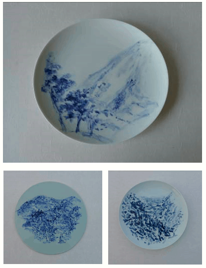 Chen Yan plate painting